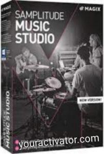 MAGIX Samplitude Music Studio Crack